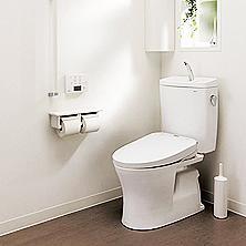 トイレ入替えリフォーム